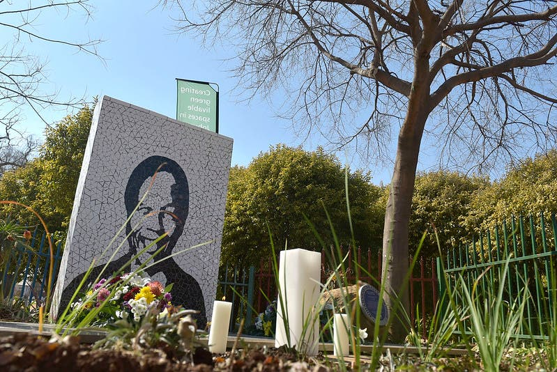 Thebe Foundation Trust - Remembering an icon on Nelson Mandela Day