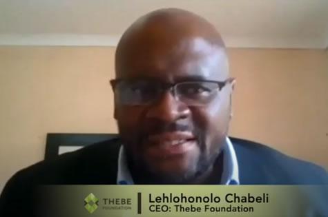 Thebe Foundation Trust Symphonia Event Soundbyte #1 -Mr Chabeli